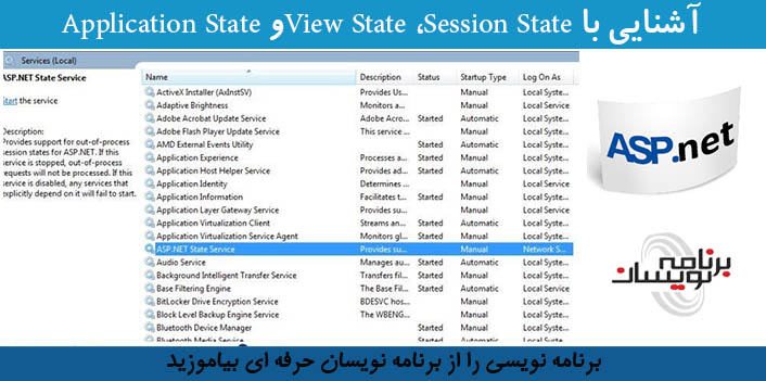 آشنایی با View State ،Session Stateو Application State