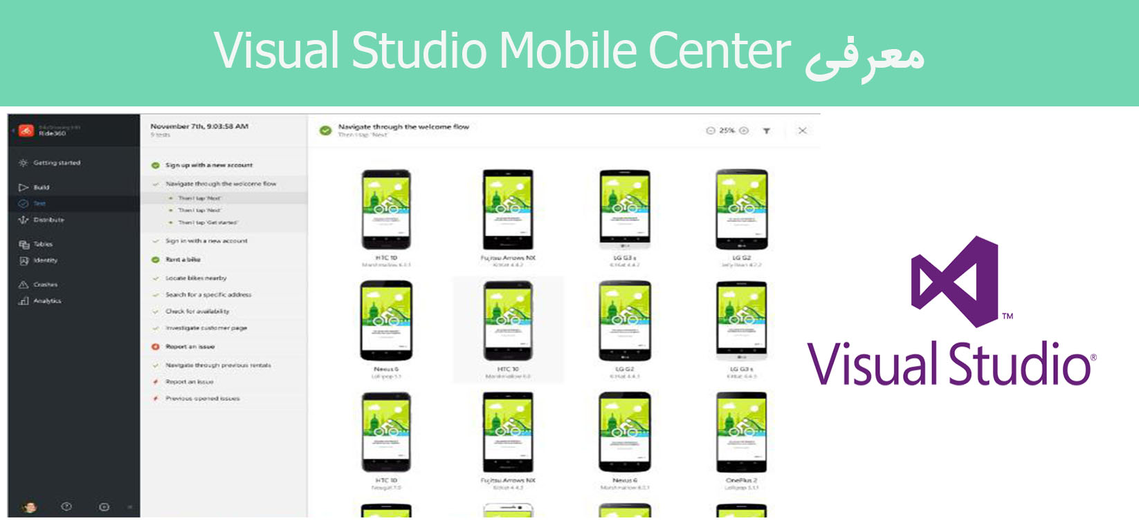 معرفی Visual Studio Mobile Center